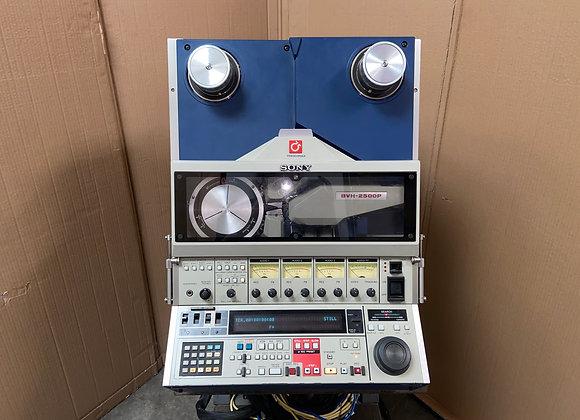 SONY BVH 2500P Videocorder