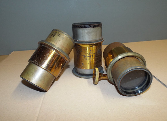 Collection of Brass Lenses
