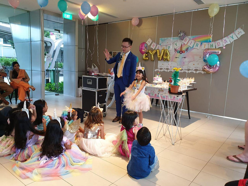 Themed Party Magic Show Singapore