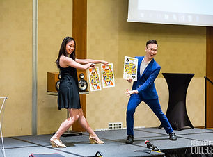 Stage Magic show in Singapore by Magician Ian Tan C.K