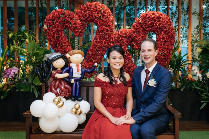 Balloons Deco for Wedding