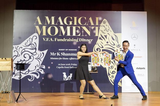 Corporate Magic Show in Singapore