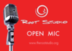 Open Mic at Root Studio