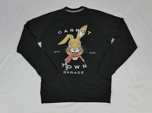 "Classic Carrot Town Garage ""Jack"" Raglan Sweatshirt"