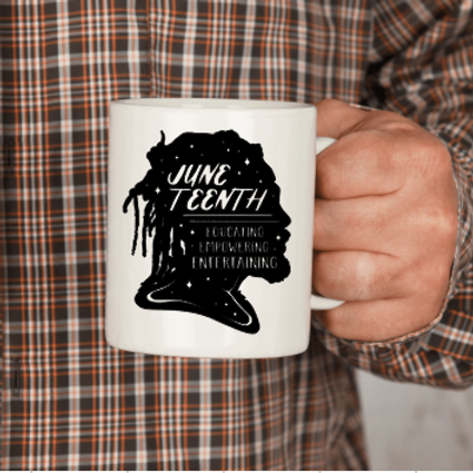 Juneteenth Rasta Mug or Glass