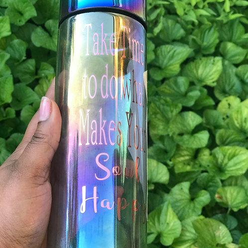 Happy Soul Water Bottle
