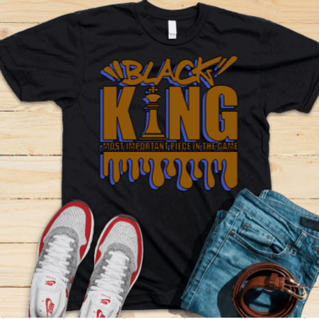 Black King Chess Tee