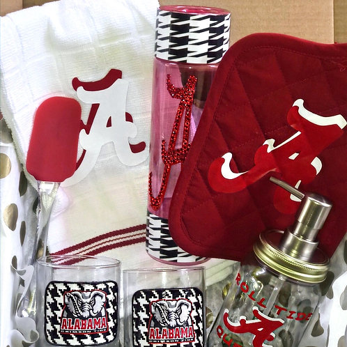 Queen Roll Tide Gift Set