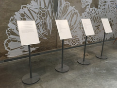 Arts Meets Science - my poems on exhibit