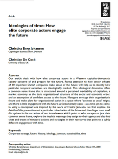 Ideologies of time