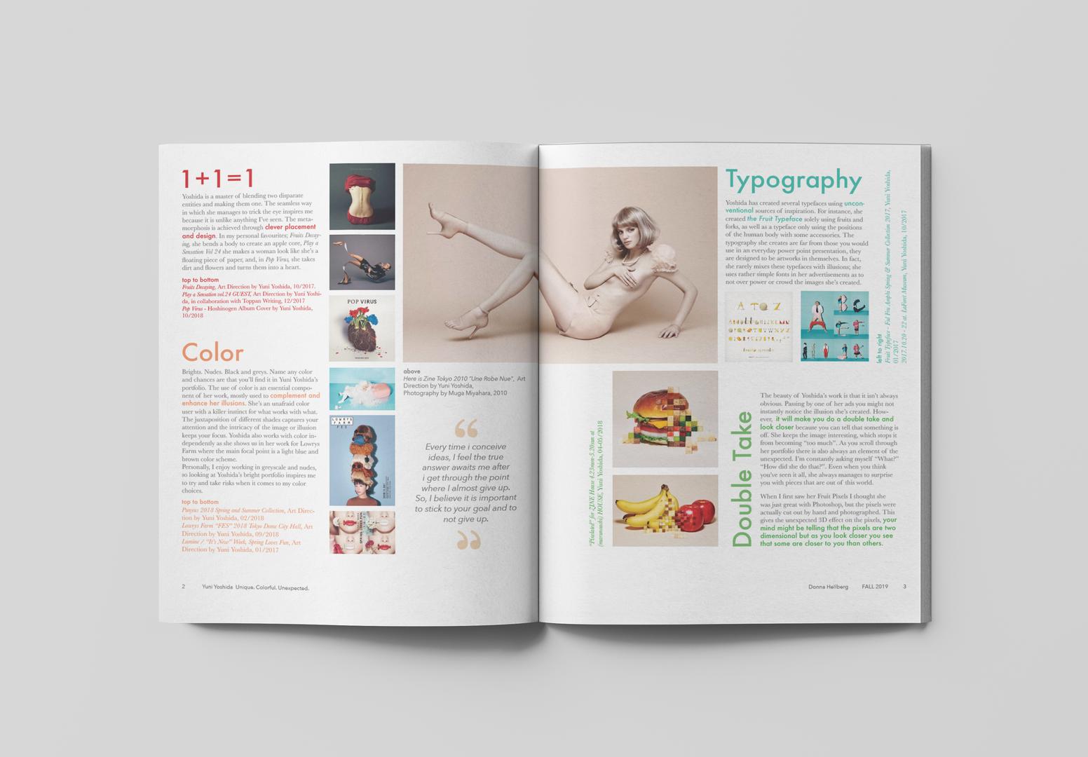 layout - newsletter