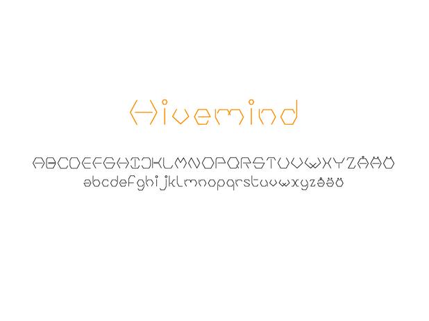 typeface - hivemind