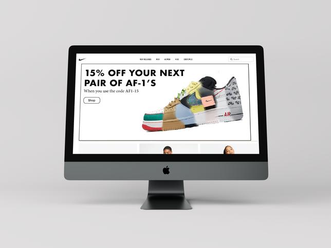 direct marketing - Nike af-1