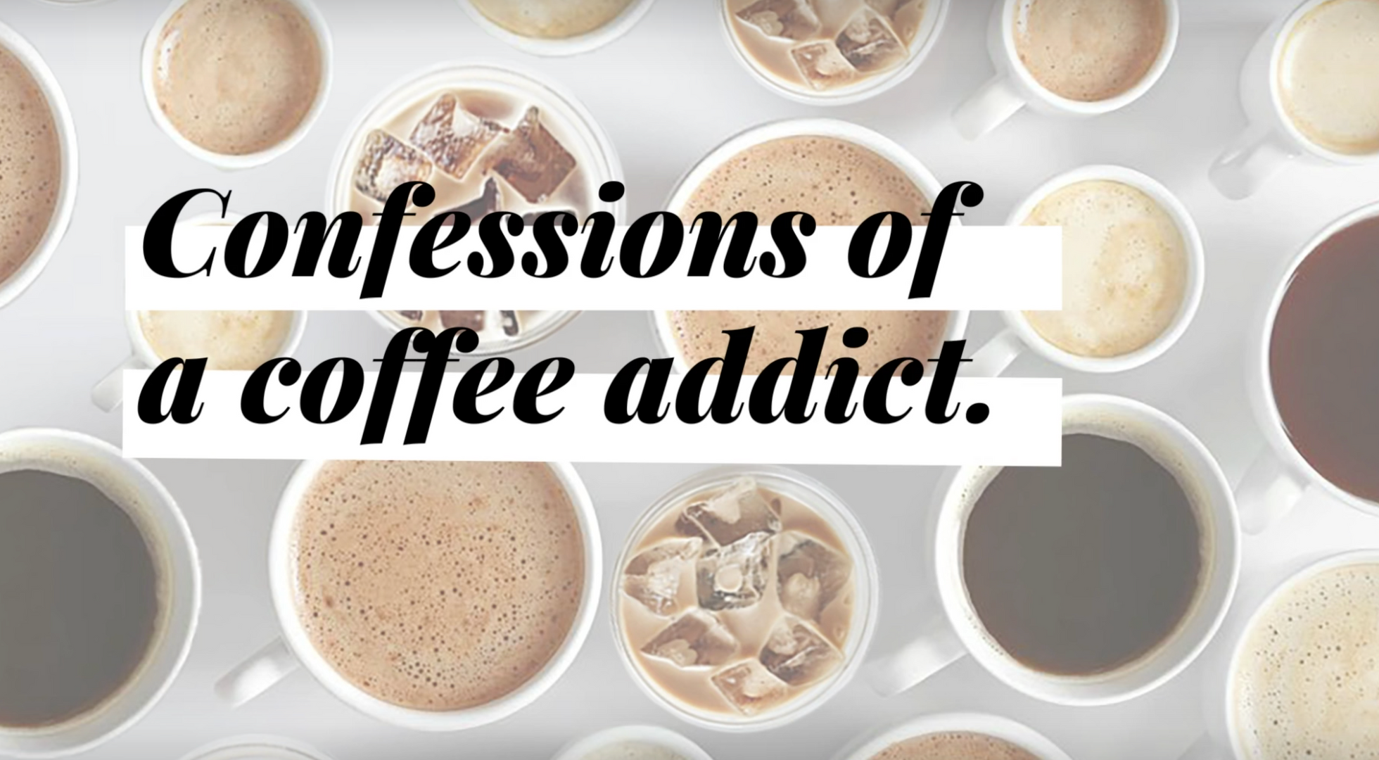 animation - confessions of a coffee addict