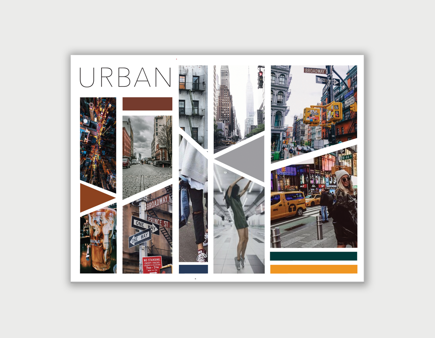 moodboard - urban