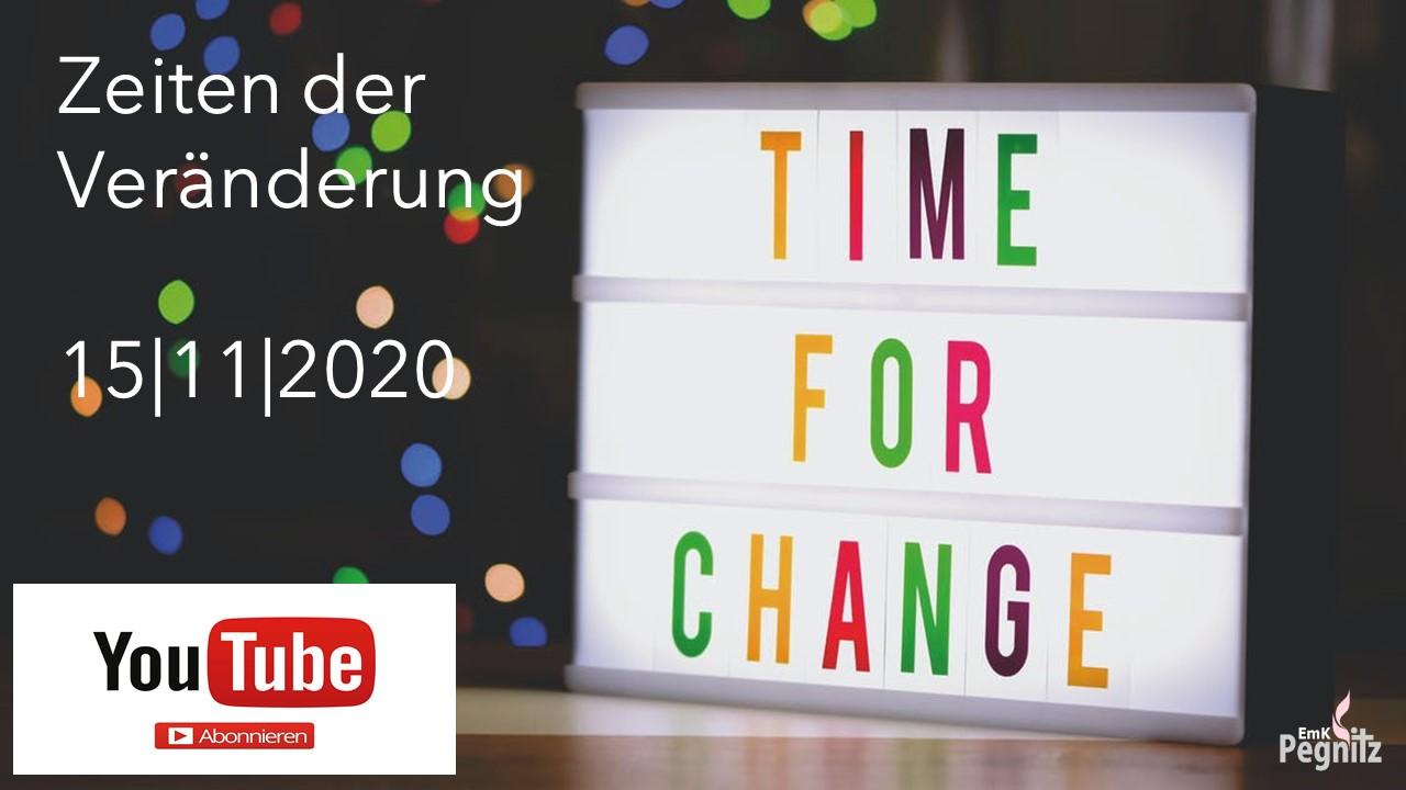2020-11-15 Veränderung