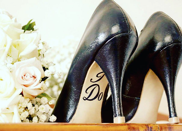 Hand-Painted Wedding Shoes