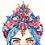 Thumbnail: Blue Crystal Girl Print