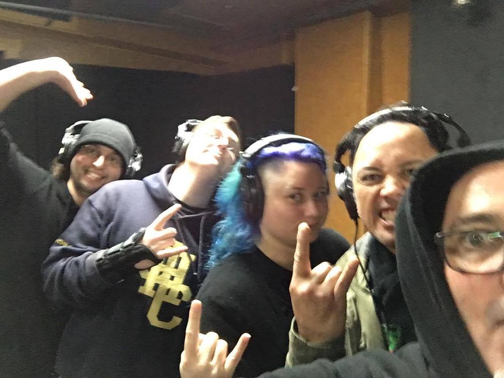 Merrin - Gang vocal session