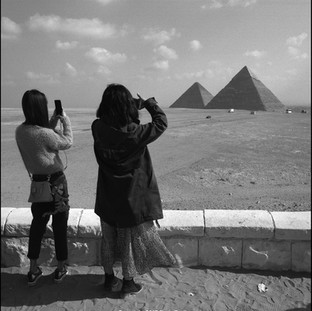 Photographing the Pyramids, Giza, 2017