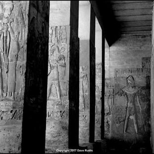 Temple of Osiris, Abydos, 2017