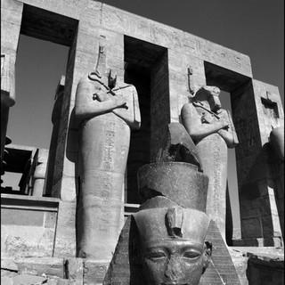The Ramesseum, Luxor, 2017