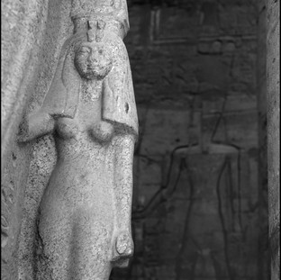 The Queen of Egypt, Luxor Temple, Luxor, 2017