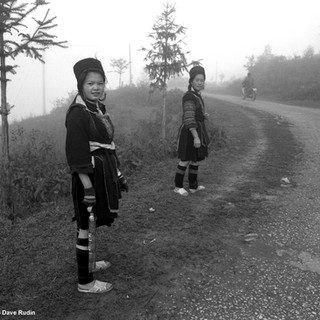 Black Hmong Girls, Northern Vietnam, 2006