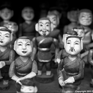Water Puppets, Temple of Literature, Hanoi, 2011