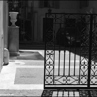 Gate, Rome, 2017