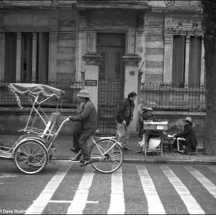 Pedicab, Hanoi, 2011