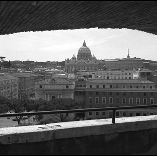 View from Castel Sant'Angelo, Rome, 2009