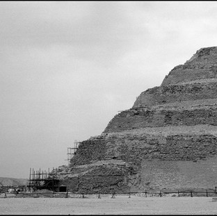 The Step Pyramid, Saqqara, 2017