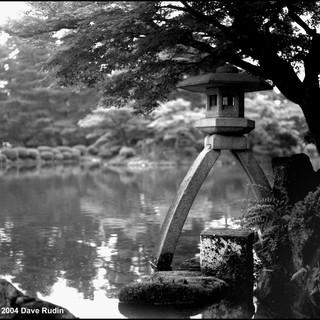 Stone Lantern, Kenroku-en Garden, Kanazawa, 2004