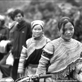 Flower Hmong Girl, Northern Vietnam, 2006