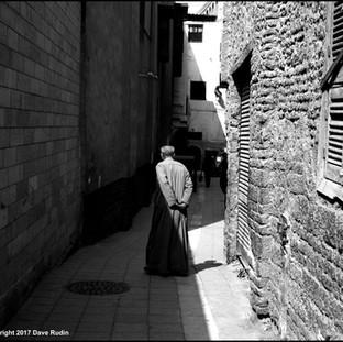 Man in the Street, Cairo, 2017