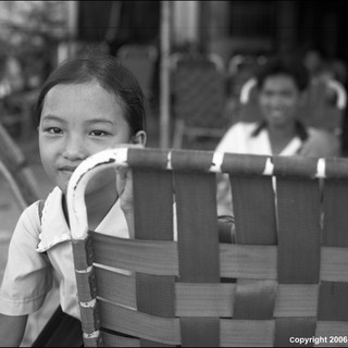 The Shy Schoolgirl, Mekong Delta Region, 2006