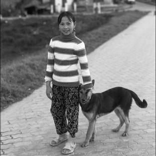 A Girl and Her Dog, Sapa, 2006