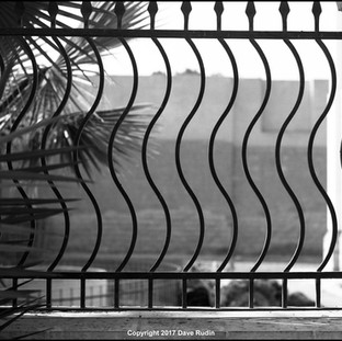 Ornate Fence, Ben Ezra Synagogue, Cairo, 2017