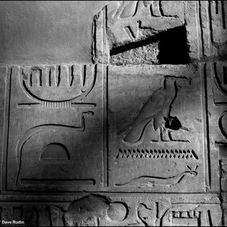 Hieroglyphs, Karnak Temple, Luxor, 2017