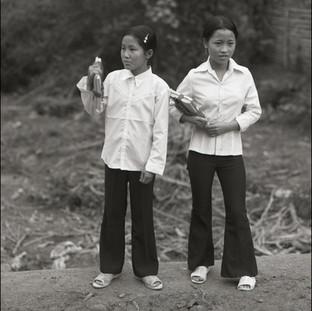 Schoolgirls, Mekong Delta Region, 2006