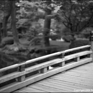 Bridge, Kenroku-en Garden, Kanazawa, 2004