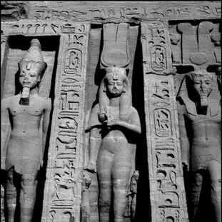 Temple of Nefertari, Abu Simbel, 2017