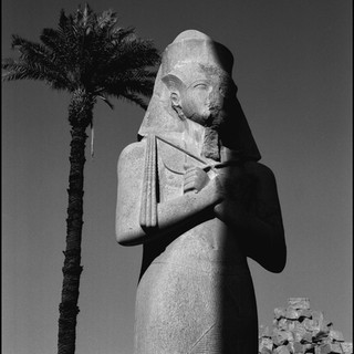 Colossal Figure, Karnak Temple, Luxor, 2017