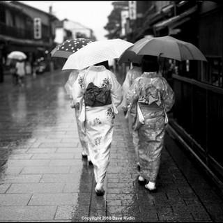 Rainy Day, Gion District, Kyoto, 2010