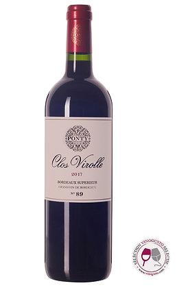 Ponty Clos Virolle 2017 Bordeaux Superieur
