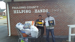 Dropping Off Toys To Non Profit