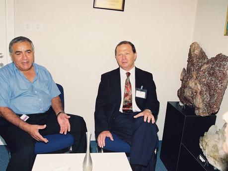 ביקור שגריר הפיליפינים 1996