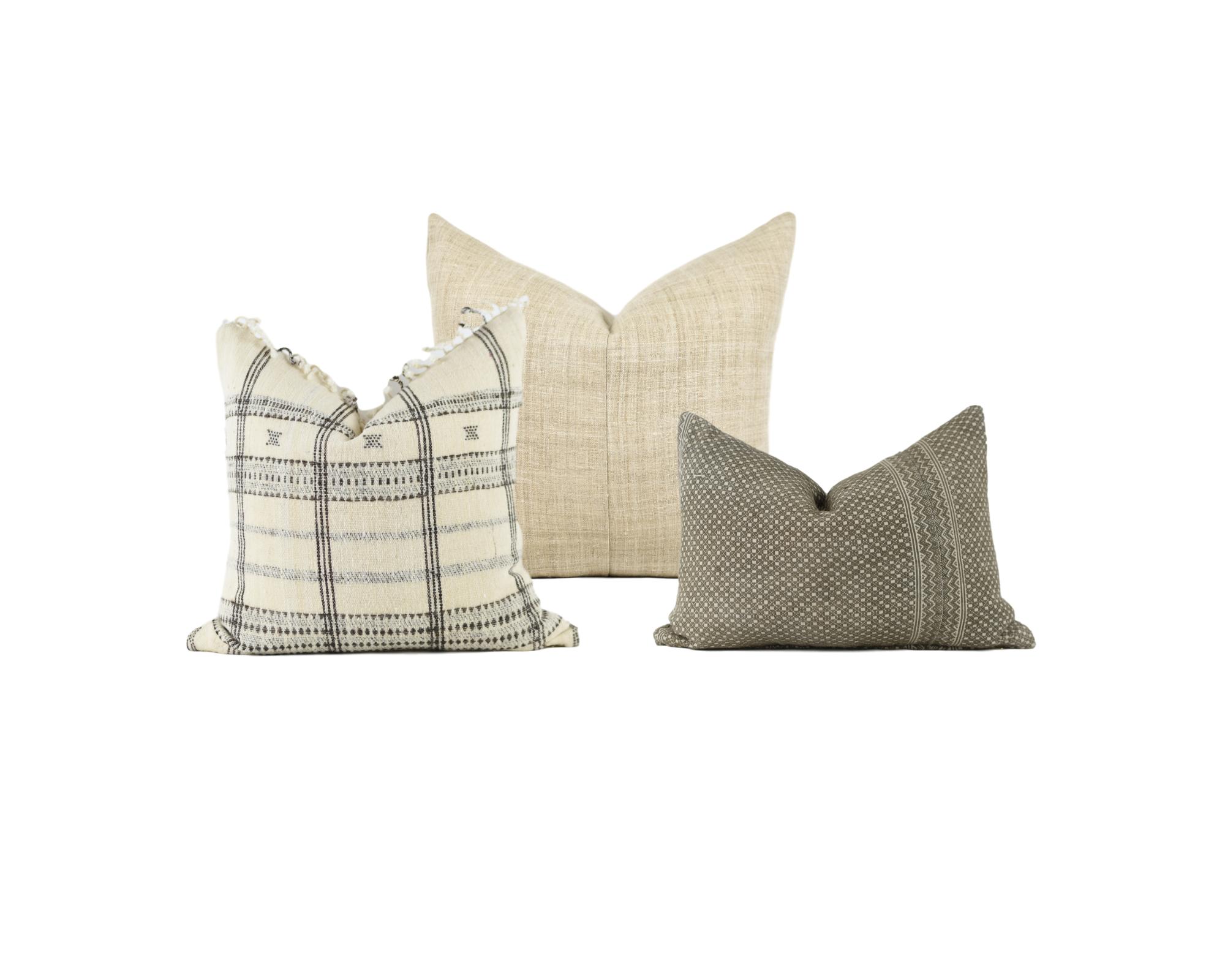 Neutral Pillow Combo 2 Xasmin Interiors