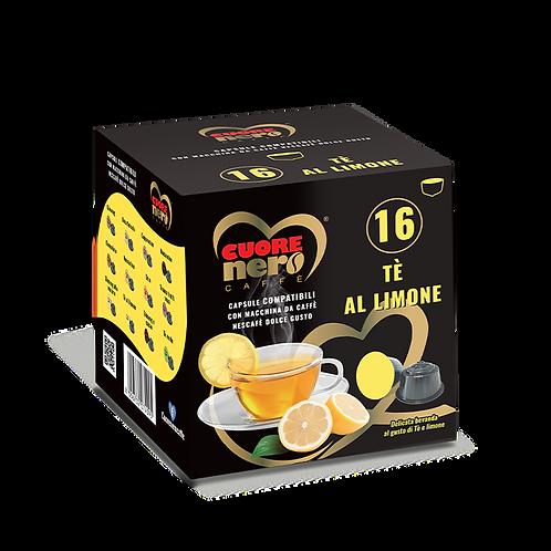 """50 Unità Capsule Compatibili """"DOLCE GUSTO"""" Tè al limone 16 pz"""